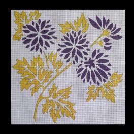 Junjin jaune et violet